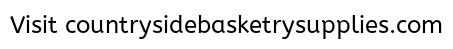 Wood Basket Weaving Supplies : Countryside basketry supplies patterns