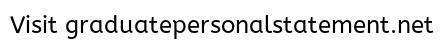 Engineering Graduate School Personal Statement Sample